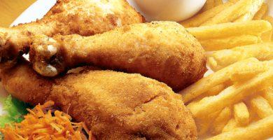 Aprende a hacer pollo frito saludable